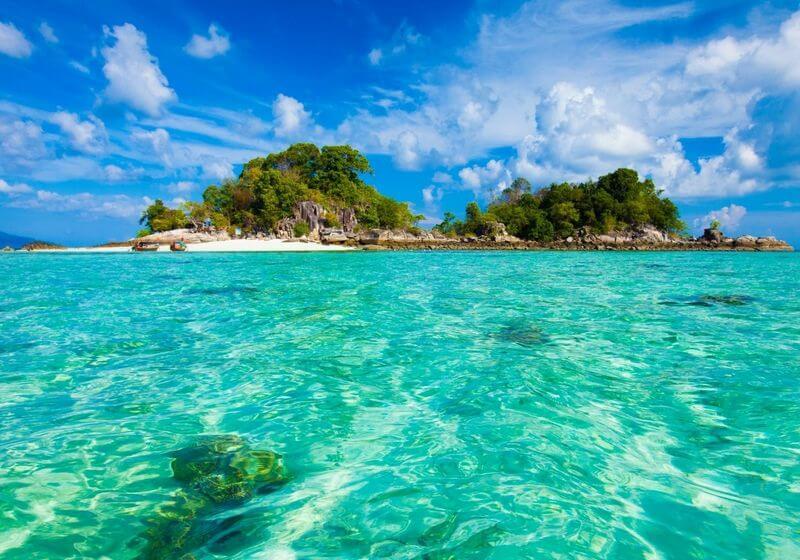 Island Thailand Water Beach RF