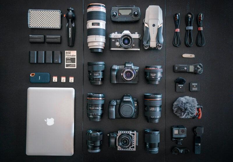 Photography camera equipment RF