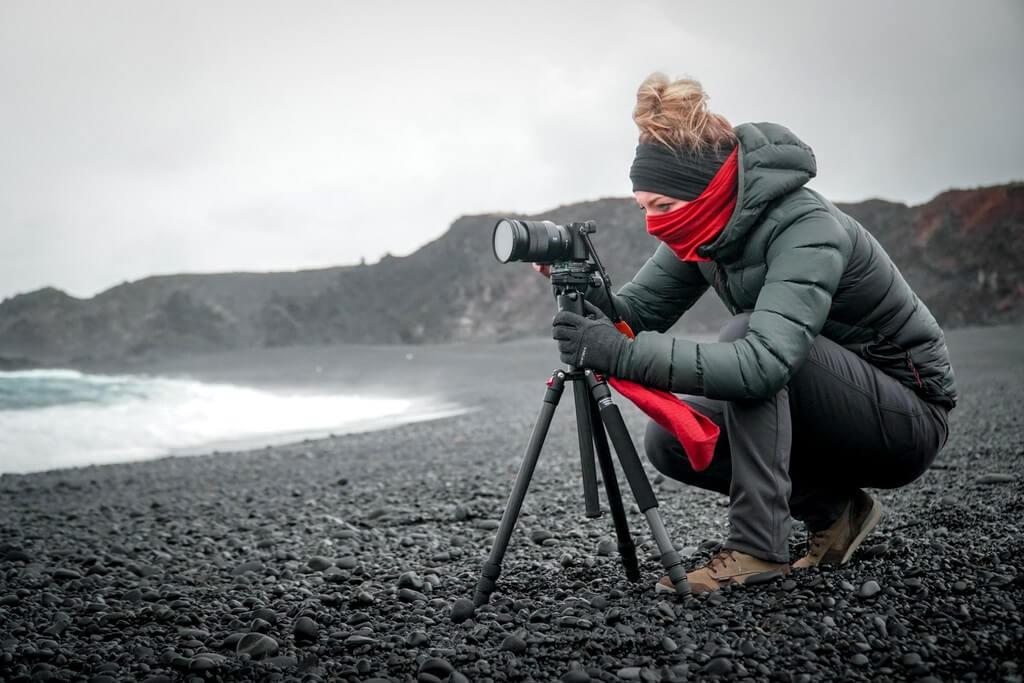Photography tripod camera RF