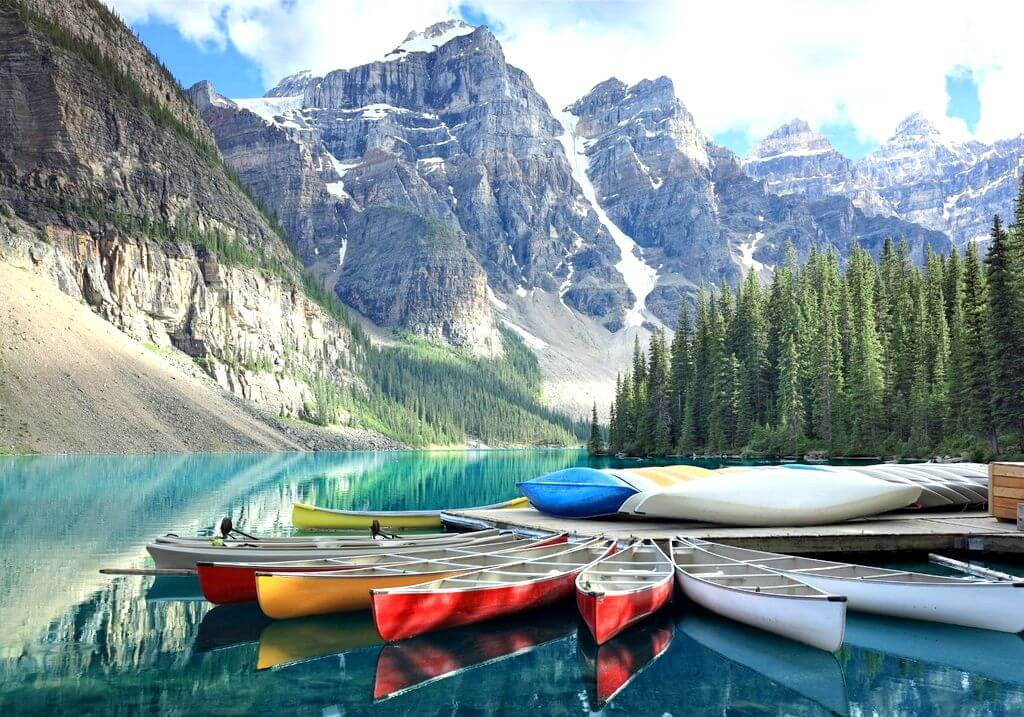 Canada nature kayaks mountain RF