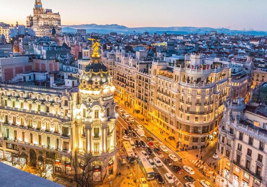 Madrid Spain City RF