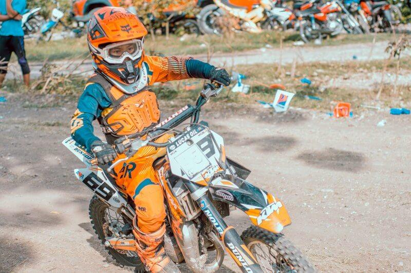 Motorcross dirt bike RF