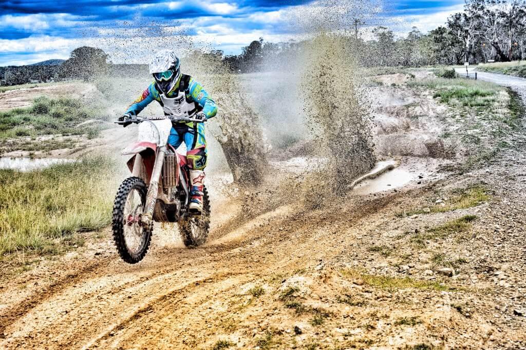 Motorcross dirt biking RF