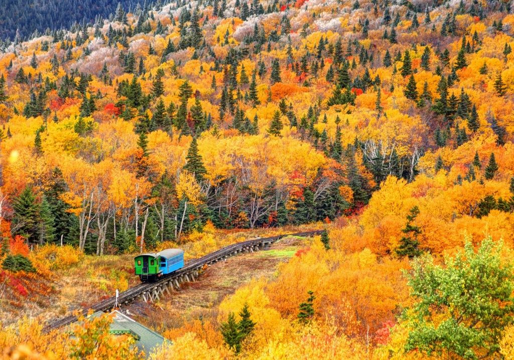 Mt Washington Cog Railway Train RF