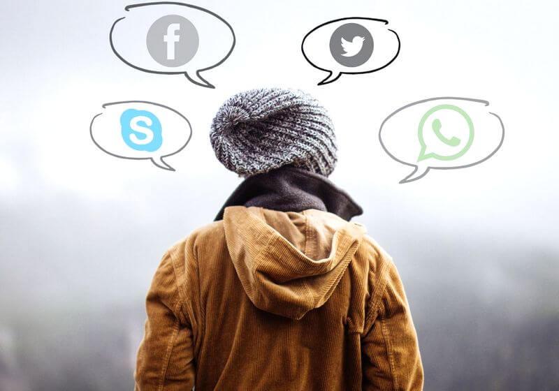 Travel apps social media RF