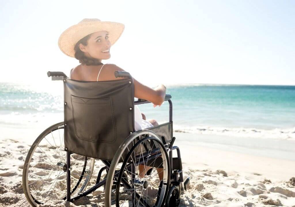 Wheelchair beach RF