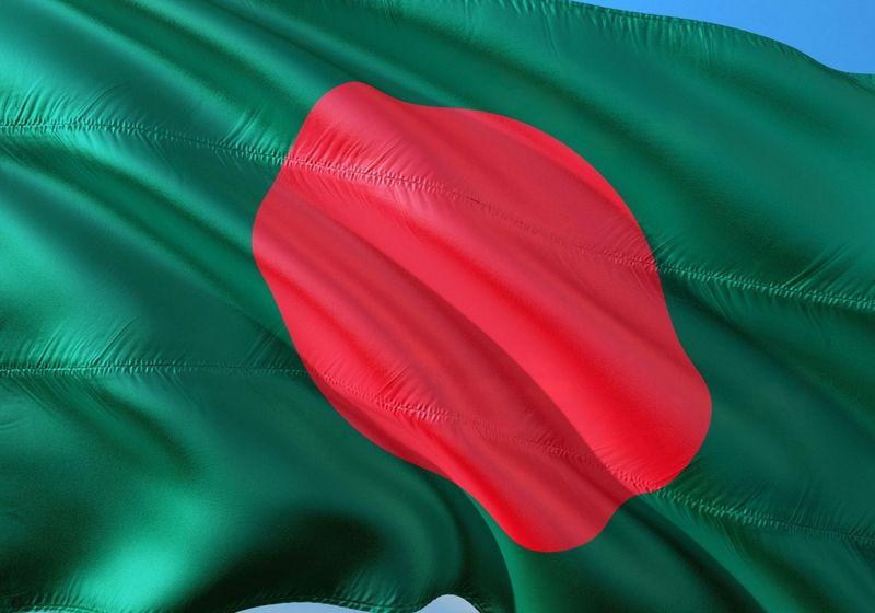 Bangladesh flag RF