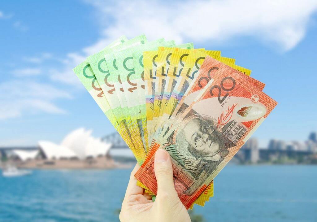 Sydney Opera House Australia Money Cash RF