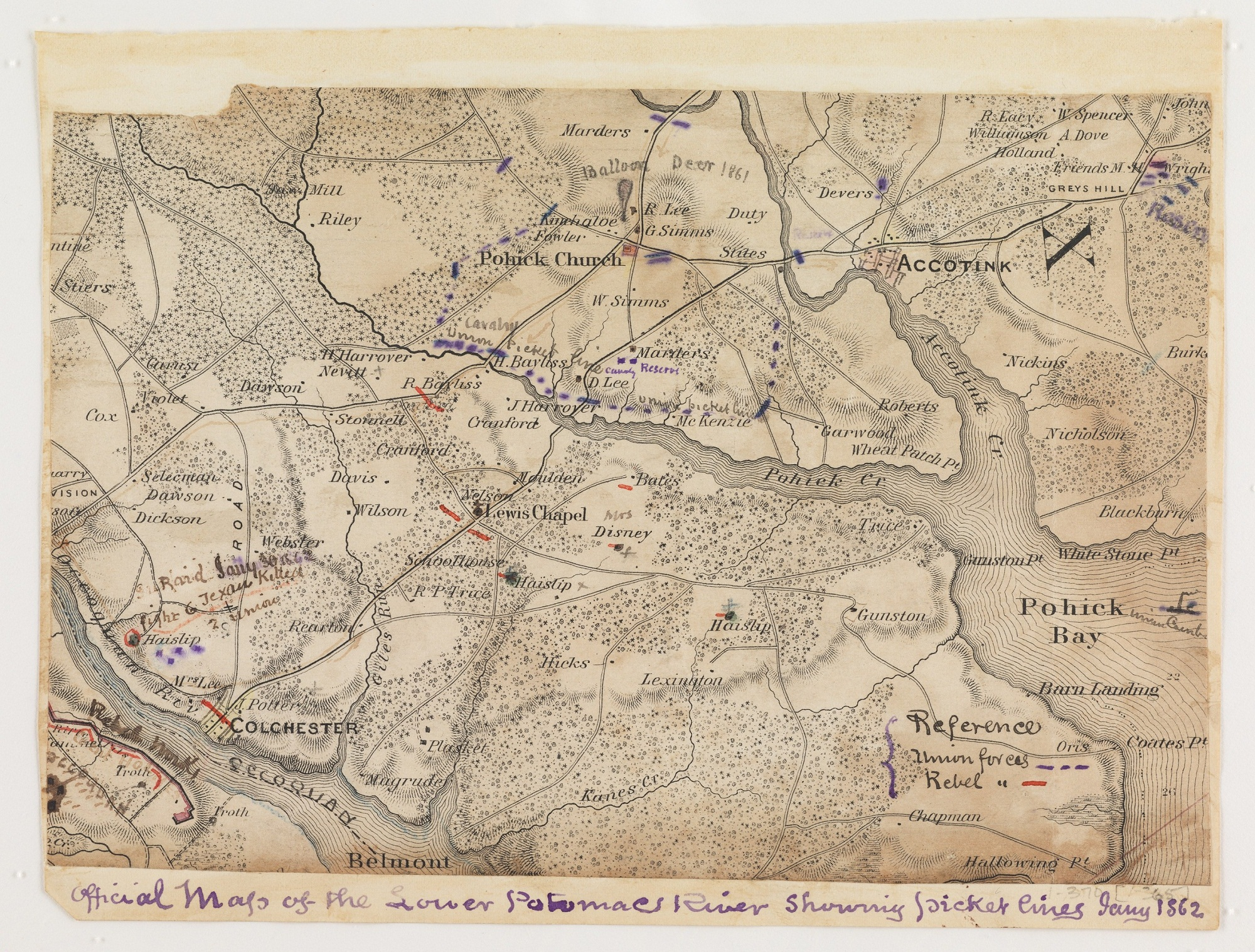 Civil War Maps At The Library Of Congress Mapping The