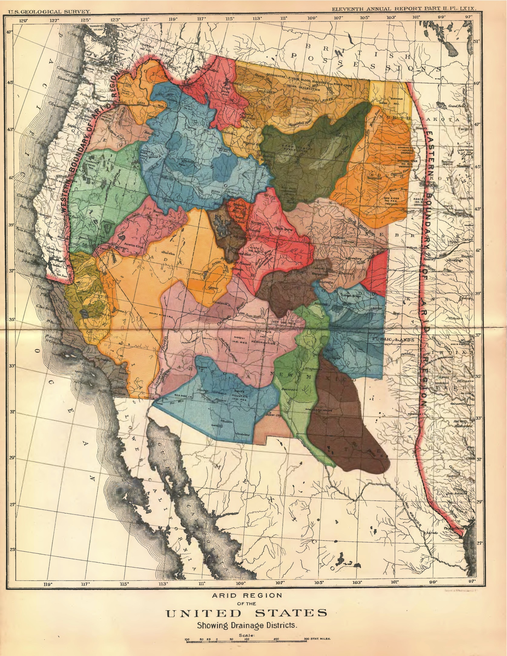 An Alternative Map Of The American West Mapping The