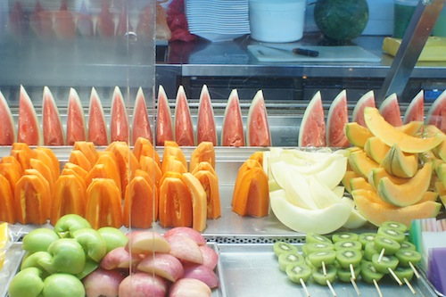 Fruit at hawker centre
