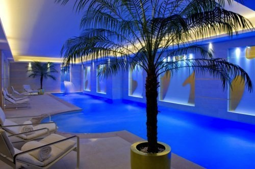 Swimming pool at Le Burgundy Hotel Paris