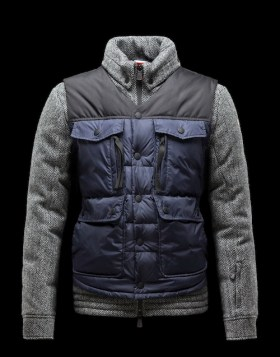 quilted jacket by moncler