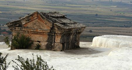 Turkey travel Pamukkale
