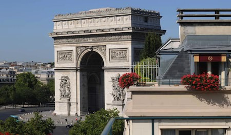 hotel napoleon paris view