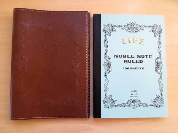 fountain pen friendly notebook