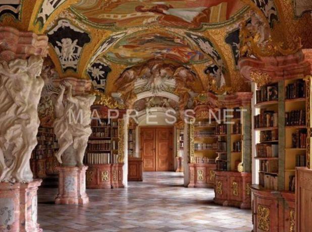 Biblioteca de la Abadía de Metten