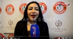 الفنانة منى أسعد وعلاقتها بالإعلام المغربي