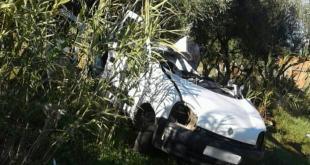 صور: مصرع خمسة أفراد من عائلة واحدة في حادثة سير مفجعة نواحي تيفلت