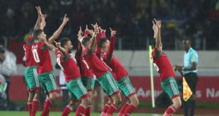 المحلي المغربي يعبر الجزائر بثلاثية إلى أمم أفريقيا