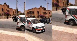 فيديو.. جندي يذبح زوجته ويلوذ بالفرار