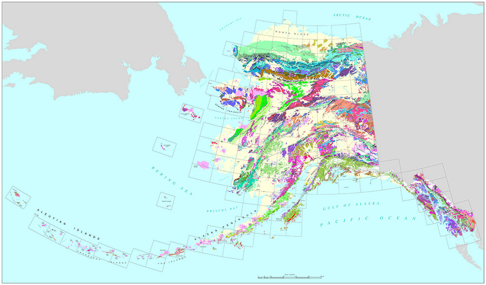 Digital Geologic Map of Alaska