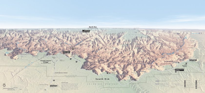 grand-canyon-south-rim-map