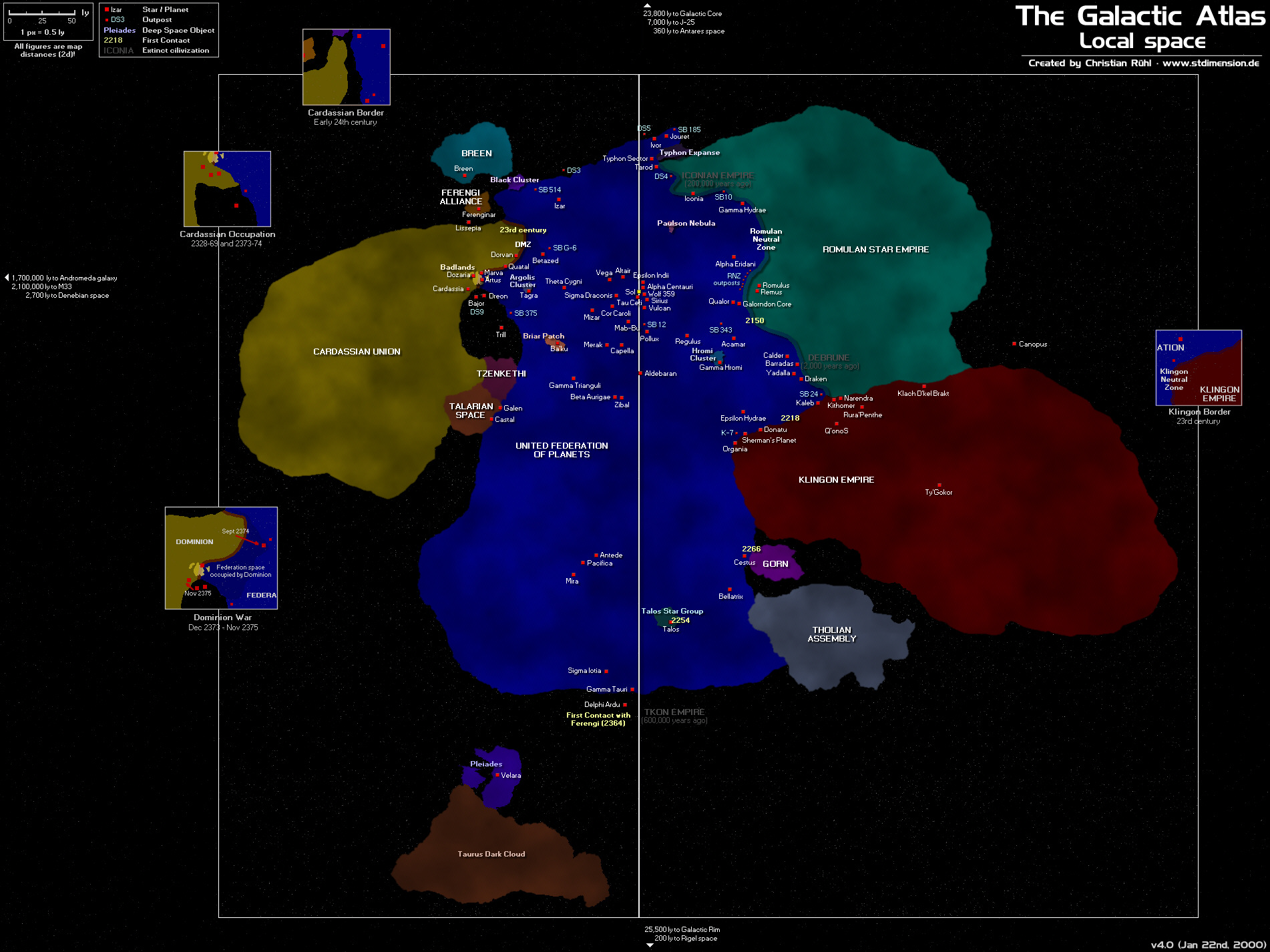 Mapping Star Trek The Map Room