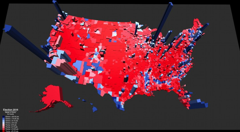 US Elections The Map Room - 2016 us electoral map counties
