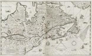 3. Champlain, Carte de la Nouvelle-France (1632)