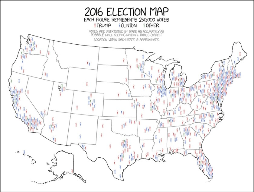 US Elections The Map Room - Us electoral map