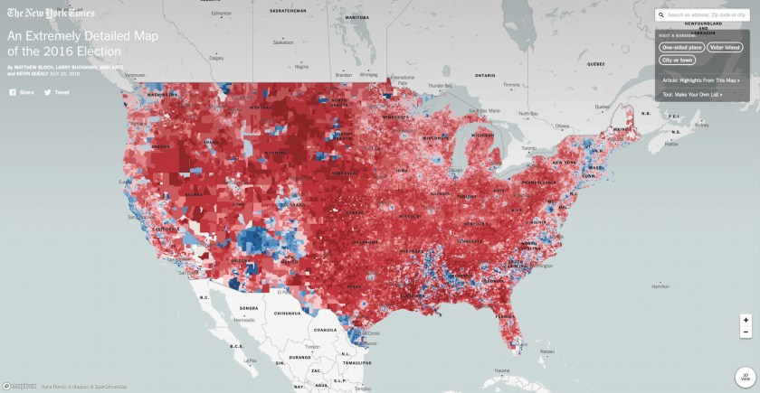 2016 US elections – The Map Room