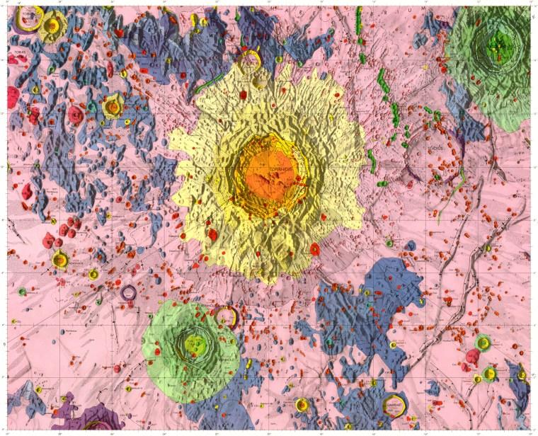 Geologic Map of the Copernicus Quadrangle of the Moon