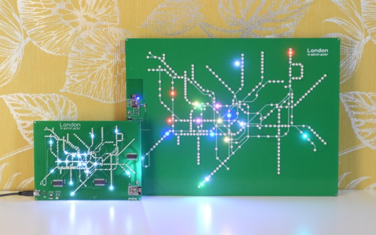 Traintrackr circuit board maps