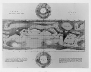 Nathaniel Green's map of Mars