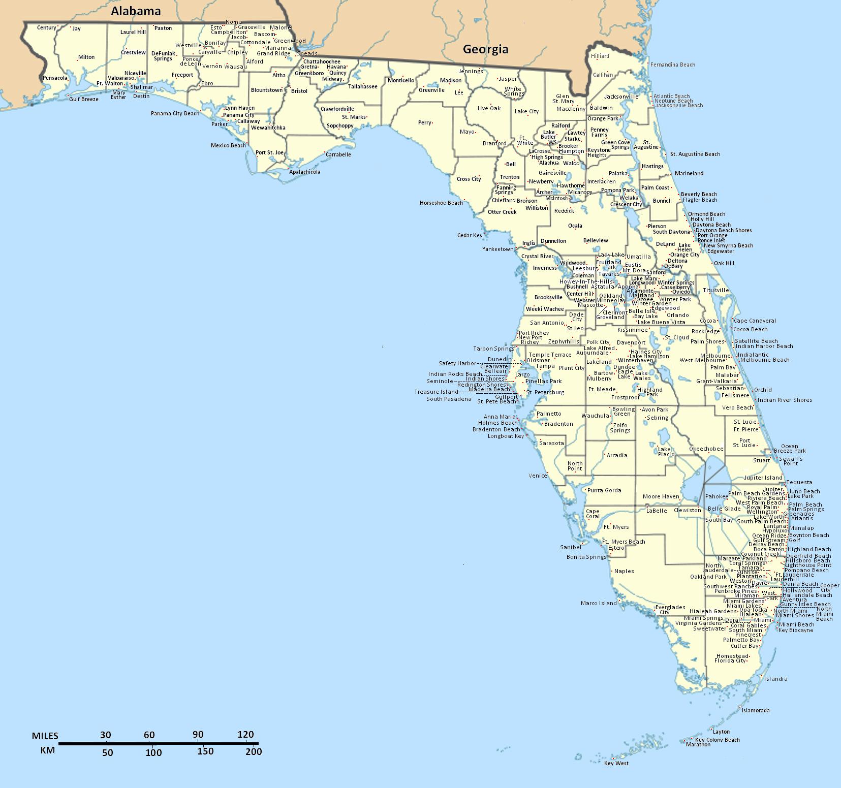 Florida Map September