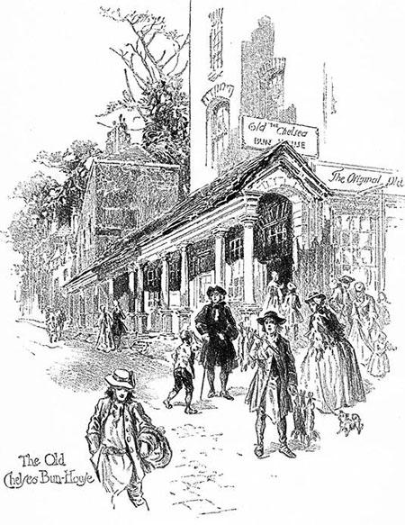The Bun House in Chelsea