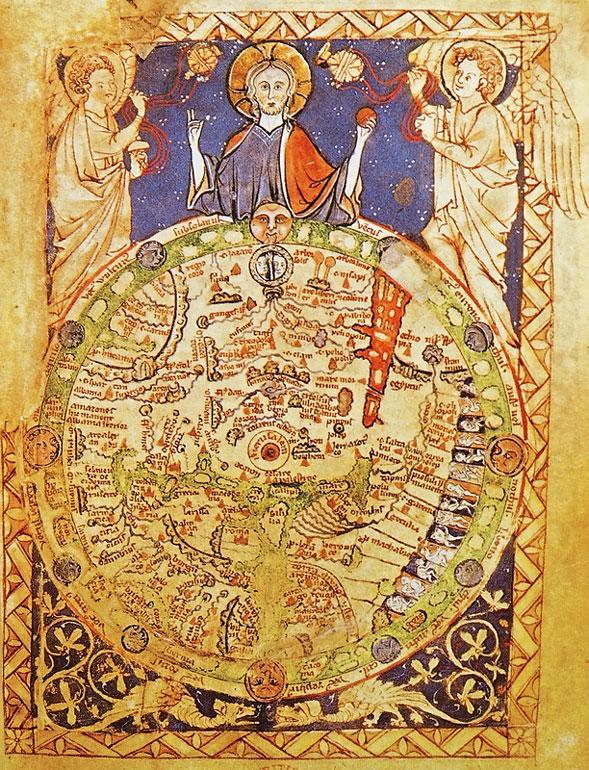 medieval map