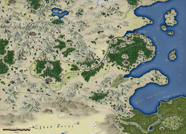 World of Caera - The Free Lands