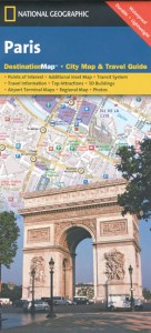 Paris Map National Geographic   Maps   Books   Travel Guides   Buy     Paris Map National Geographic