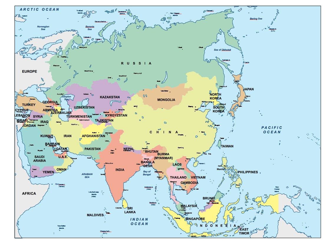 Download Asia Ppt Powerpoint Maps Open Office