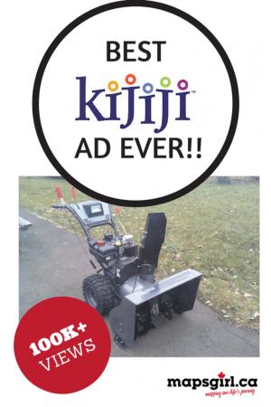 Best Kijiji ad ever