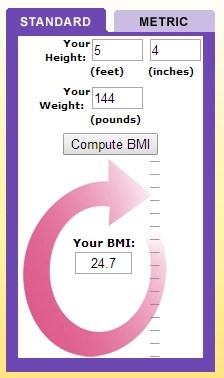 Getting Healthy - BMI