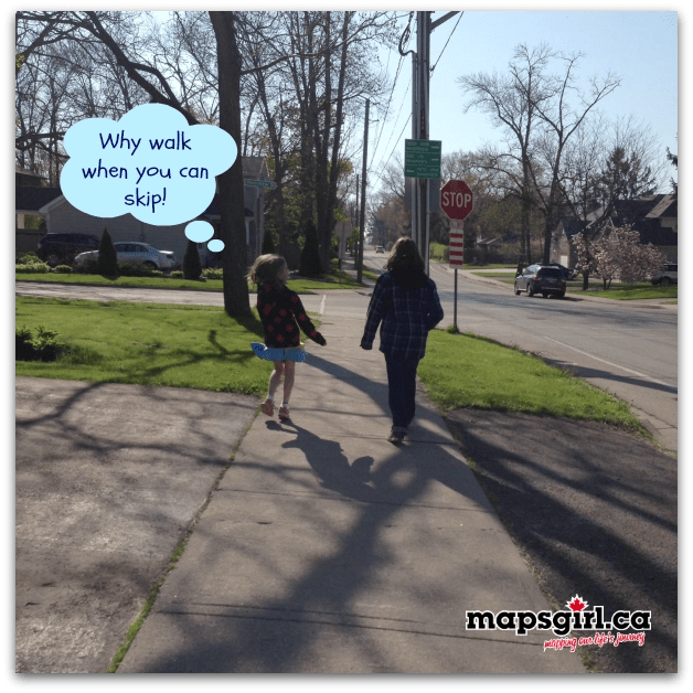 Why walk when you can skip! { wordless wednesday }