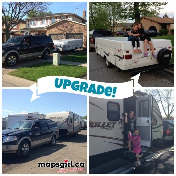 We upgraded! Wordless Wednesday