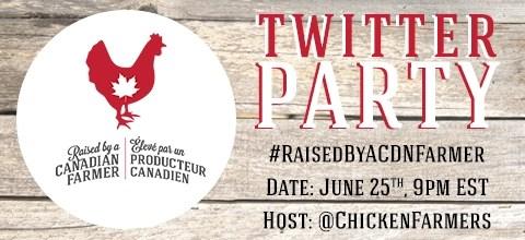 #RaisedByACDNFarmer Twitter Party - June 25th