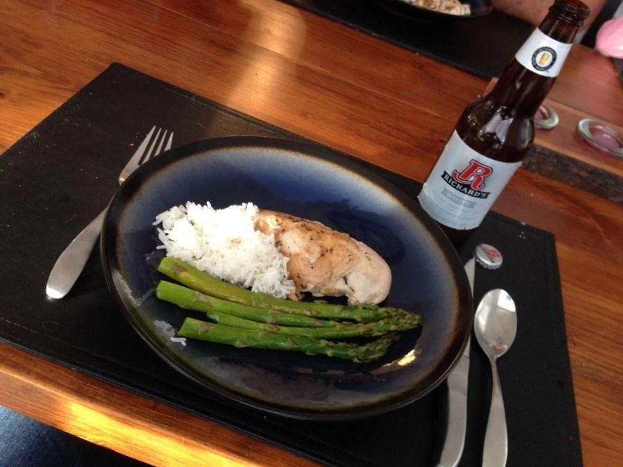 Slow cooker beer can chicken #chickendotca