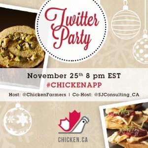 #ChickenApp Twitter Party - Nov 25 8pm EST