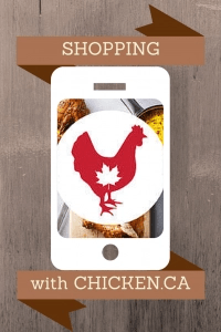 Shopping with Chicken.ca #ChickenApp