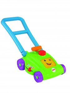 Fisher Price Smart Stages Lawn Mower